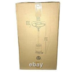 Fire Sense Patio Heater (Gray Finish) Commercial Grade 46000 BTU SHIPS SAME DAY