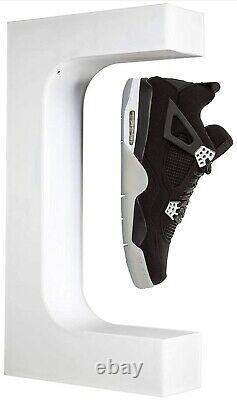 Floating Shoe Display Levitating Sneaker Stand WHITE with LED Remote! Ships TODAY
