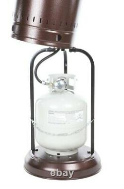 Free Same Day Shipping Fire Sense 46,000 BTU Aged Chestnut Patio Heater