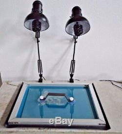 Free Shipping Simple Screen Printing UV Exposure Unit Stencil Ink-jets Light