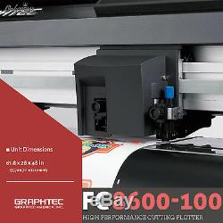 GRAPHTEC FC8600-100, 42 Vinyl Cutter Plotter+FREE Stand & FREE Shipping