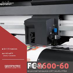 GRAPHTEC FC8600-60, 24 Vinyl Cutter Plotter+FREE Stand & FREE Shipping