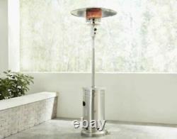 Garden Treasures 48000-BTU Stainless Steel Patio Heater-Brand New(Fast Shipping)