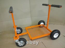 Go Kart Stand Collapsible Rolling Go Kart Stand ORANGE Powdercoat NEW FREE SHIP