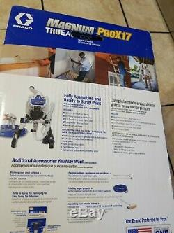 Graco 17G177 Magnum Prox17 Stand Paint Sprayer Airless 120v FREE SHIPPING