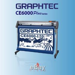 Graphtec CE6000-120 PLUS 48 Cutter with Stand FREE SHIPPING