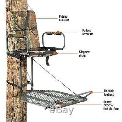 Guide Gear Deluxe Hunting Hang-On Tree Stand FREE SHIPPING