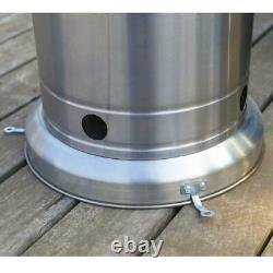 Hampton Bay 48000 BTU Stainless Steel Patio Heater BRAND NEW FREE SHIP FAST