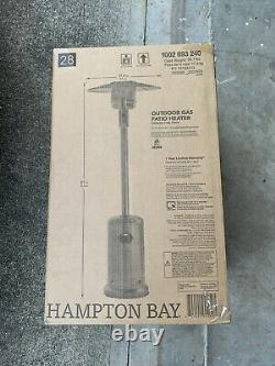 Hampton Bay 48000 BTU Stainless Steel Patio Heater FREE SHIPPING