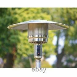 Hampton Bay 48000 BTU Stainless Steel Patio Heater NEW- Fast Free Shipping