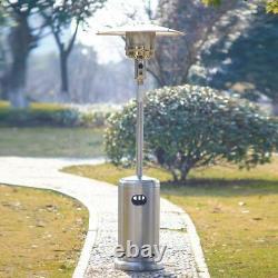 Hampton Bay 48000 BTU Stainless Steel Propane Outdoor Patio Heater SHIPS NOW