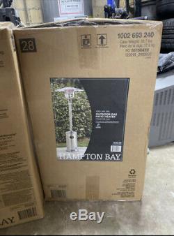 Hampton Bay Patio Heater 48000 BTU (GAS) IN HAND NEW SHIPS FAST
