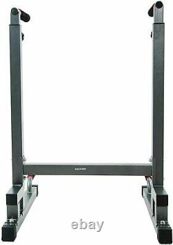 Heavy Duty Dip Stand / Dip Bar for Home Gym 500LB Capacity FAST SHIPPING