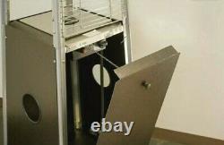 Hiland Hampton Pyramid Patio Propane Heater with Wheels 40000 BTUSAME DAY SHIP