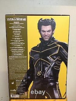 Hot Toys MMS 187 X-Men The Last Stand Wolverine Hugh Jackman 12 inch Figure NEW