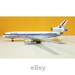 IFDC100517PA 1/200 UNITED AIRLINES DC-10-10 N1816U FRIEND SHIP POLISHED WithSTAND