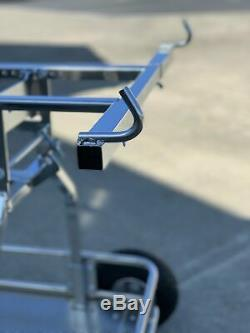 IM Stiletto One Man Kart Stand Chrome $50 Flat Rate Shipping