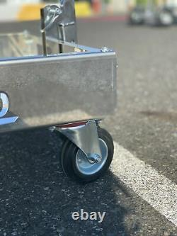 IM Stiletto One Man Kart Stand Stainless Steel $50 Flat Rate Shipping