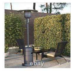 In Hand Fire Sense 46000 BTU Propane Patio Heater Grey Free 1 Day Shipping
