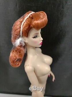 Integrity IFDC 2019 Dish Redhead Doll Nude w extra hands Stand INTL SHIP