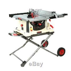 JBTS-10MJS, 10 Jobsite Table Saw with Stand 707000 FREE SHIPPING