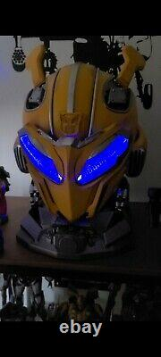 KILLERBODY BUMBLEBEE HELMET WithSTAND TRANSFORMERS PRIME ROBOT SHIPPED FROM USA