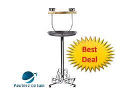 Kaytee EZ Care T Bird Stand Medium (25L x 25W x 53.8H) Free Shipping Gift