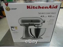KitchenAid 4.5qt. Tilt-Head Stand Mixer Silver KSM88SL NEW! FREE SHIPPING