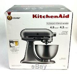 KitchenAid Classic 4.5Qt Stand Mixer SILVER KSM75SL BRAND NEW FREE SHIPPING