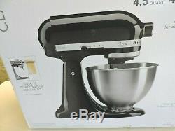 KitchenAid Classic 4.5-qt Stand Mixer, Black Onyx K45SSOB NEW FREE SHIPPING