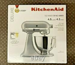 KitchenAid DELUXE 4.5QT Tilt-Head Stand Mixer KSM97SL Silver (NEW) FREE SHIPPING