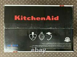KitchenAid K45SSOB Classic Tilt-Head 4.5 qt Stand Mixer Onyx Black Free Shipping