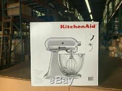 KitchenAid KSM105GBCMC 5-Quart Glass Bowl Tilt-Head Stand Mixer FREE SHIP