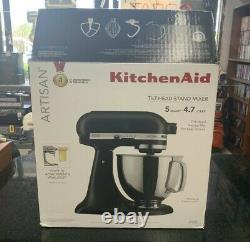 KitchenAid KSM150PSBM 5-Quart Tilt-Head Stand Mixer, Matte Black (FREE SHIPPING)