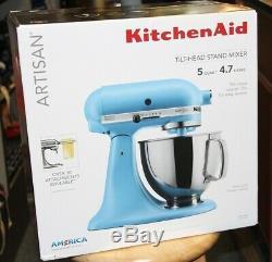 KitchenAid KSM150PSVB Blue Velvet Tilt-Head Stand Mixer Free Shipping