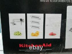 KitchenAid KSM97SL 4.5Q Deluxe Silver Tilt-Head Stand Mixer BRAND NEW FREE SHIP