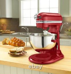 KitchenAid Pro 5 Plus 5-Quart Bowl-Lift Stand Mixer Empire Red SHIPS TODAY