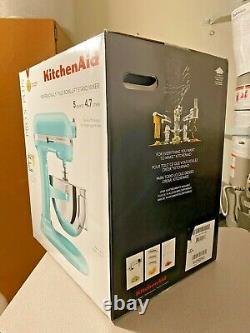 KitchenAid Pro 5 Plus 5 Quart Bowl-Lift Stand Mixer KV25G0X Ice Blue FAST SHIP