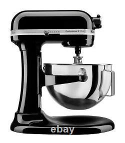 KitchenAid Pro 5 Plus 5 Quart Bowl Lift Stand Mixer Onyx Black NEWSHIP TODAY