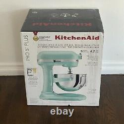 KitchenAid Pro 5 Plus SHIPS FAST KV25G0X Ice Blue 5-Quart Bowl-Lift Stand Mixer