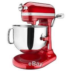 KitchenAid Pro Line 7 Qt Bowl-Lift Stand Mixer KSM7586P- Free Ship 3 colors