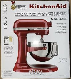 KitchenAid Professional 5 Plus Series Stand Mixer (Empire Red) OVERNIGHT SHIP