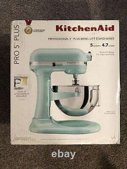 - KitchenAid Professional 5qt Stand Mixer -Ice Blue Same Day Shipping