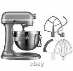 KitchenAid Professional 600 Series Stand Mixer 6 Qt, SILVER. FREE SHIPPING 2-Day