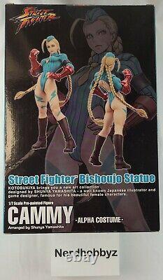 Kotobukiya Street Fighter Bishoujo Statue Cammy Alpha Costume Shunya Yamashita
