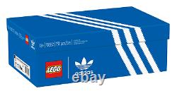 LEGO Adidas Originals Superstar Exclusive With Box And Stand In Hand FREE Ship