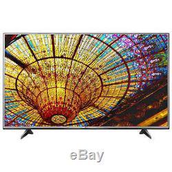 LG 55 Class Flat Screen 4K Ultra HD LED Smart TV Built-In Wi-Fi Stand Free Ship