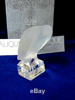 Lalique #6106300 Standing Eagle Bnib Signed 2000 Lcs Rare $315 Off Free Shipping