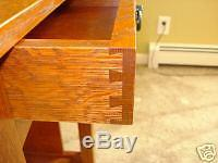MISSION OAK NIGHT BED STAND With DRAWER QUARTERSAWN OAK FREE SHIPPING