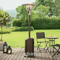 Mainstays 7 FT Portable Mocha Propane Patio Space Heater Brand New Fast Shipping